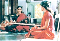 Shabana and Perizaad in 'Morning Raga'