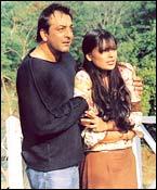 Sanjay Dutt, Bipasha in Rakht