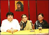 Kalpana Lajmi, Lalitha Lajmi and Meenu Mumtaz