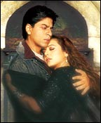 Shah Rukh, Preity in Veer-Zaara