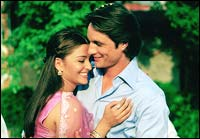 Aishwarya Rai, Martin Henderson in Bride And Prejudice