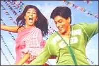 Sushmita Sen, Shah Rukh Khan in Main Hoon Na