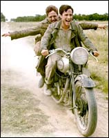 A still from The Motorcycle Diaries