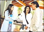 Mahima Chaudhry, Raveena Tandon, Jackie Shroff in Dobara