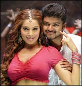 Bipasha Basu and Vijay in Sachin
