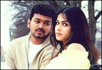 Vijay and Genelia in Sachin