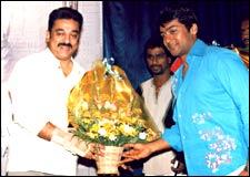 Kamal Haasan and Surya