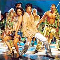 Malika Arora Khan, SRK in Kaal
