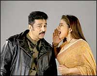 Kamal Haasan, Manisha Koirala in Mumbai Xpress