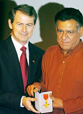 Ian Hughes and Om Puri