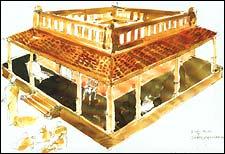 Thotta Tharani's sketches for Chandramukhi