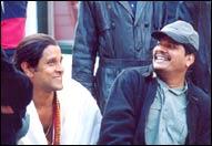 Vikram with Shankar