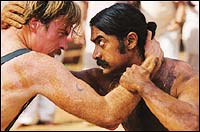 A still from Mangal Pandey