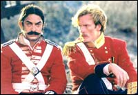 Aamir Khan and Toby Stephens in Mangal Pandey