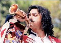Aamir Khan in Mangal Pandey