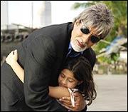 Amitabh Bachchan and Rucha Vaidya in Ek Ajnabee