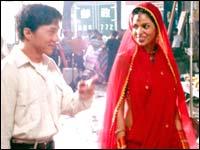 Jackie Chan and Mallika Sherawat in Myth