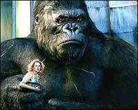 A still from King Kong