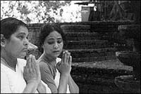 A still from Shantham