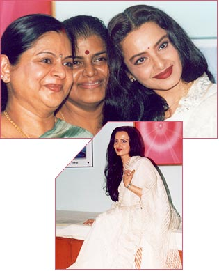 Radiant Rekha With Her Sisters
