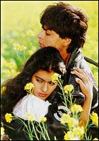 Kajol, SRK in DDLJ
