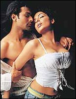 Ashmit Patel and Meera in Nazar