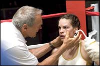 A still from Million Dollar Baby