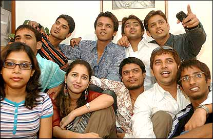 The Indian Idol finalists