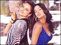 Rekha and Mallika Sherawat in Bachke Rehna