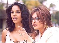 Mallika Sherawat and Rekha in Bachke Rehna