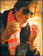 Big B in Bunty Aur Babli