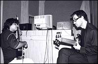 Niladri Kumar and Jonas Hellborg