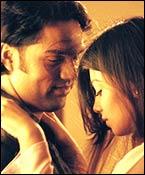Abhay Deol and Ayesha Takia in Socha Na Tha