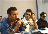 Salman Khan and Aman Varma