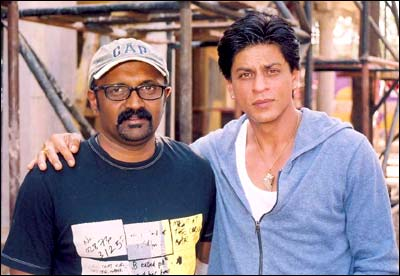 Ravi Chandran and Shah Rukh Khan