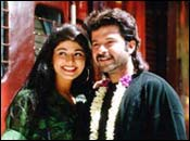 Pooja Batra and Anil Kapoor in Virasat