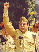 A still from Netaji - The Forgotten Hero