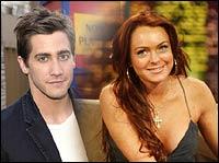 Jake Gyllenhaal and Lindsay Lohan