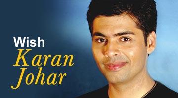 Wish Karan Johar