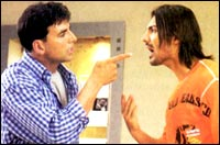 Akshay Kumar and John Abraham