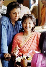Aparna Sen and Shabana Azmi