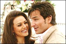 A still from Salaam Namaste