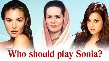 Who should play Sonia?
