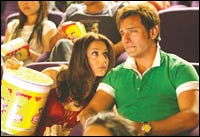 Preity Zinta and Saif Ali Khan