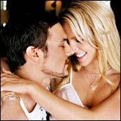 Kever Federline and Britney Spears