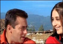 Salman Khan and Kareena Kapoor in Kyon Ki