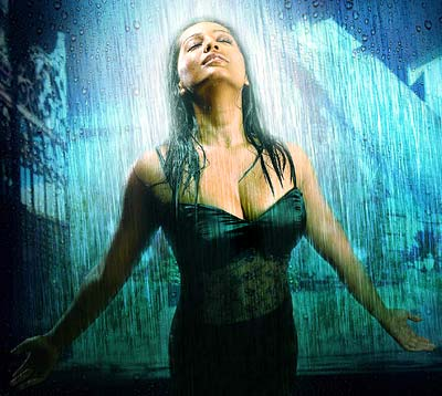 Meghna Naidu in Rain