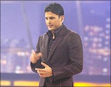 Rajeev Khandelwal on the sets of Deal Ya No Deal