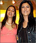Ira Trivedi and Sushmita Sen