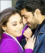 Like the saying that either you are happy or married, two individuals discover that something is amiss in their married lives in this 2006 hit film. Dev (Shah Rukh) and Maya (Rani Mukherjee) have different partners when they bump into each other